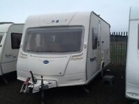 2007 Bailey ranger 460/4 berth fixed bed