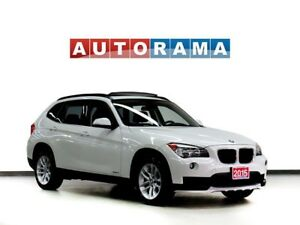 2015 BMW X1 TECH PKG NAVIGATION LEATHER PAN SUNROOF 4WD