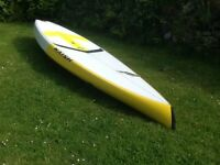 Stand up Paddleboard Naish Glide GS 12'6 Race/Down wind/Tourer, used twice, like NEW