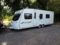 Lunar Delta RS 4 berth caravan 2011 Fixed Bed, MOTOR MOVER, Awning, BARGAIN!