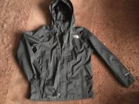 north face hyvent coat size boys large - 14/16