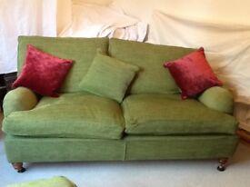 Duresta sofa, chair & footstool