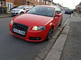 Audi a3 s line 2.0tdi quattro, bose, full leather, xenon, heated seats, tuned, coilovers