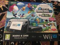 Nintendo Wii U 32GB New Super Mario Bros and New Super Luigi Bros Premium Pack