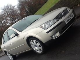 2004 FORD MONDEO 2.0 TDCI GHIA X WITH LOW MILEAGE AND LEATHER IN A1 CONDITION ! 12 MONTHS WARRANTY