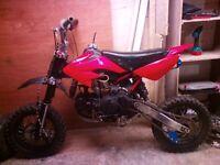 ghost gmx 150cc pit bike