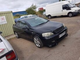 Breaking - Vauxhall Astra Coupe 1.8 16v Breaking for spares