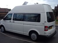 Brand new, unused conversion on 2013 hi top VW transporter