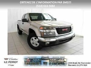 2004 GMC Canyon 2WD Extended Cab SLE, 2WD, EXTENDED, OUVERT 7 JO