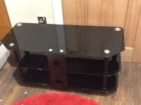 Excellent condition glass TV stand