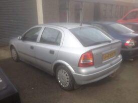 2004 Vauxhall Astra