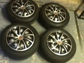 Fiat wheels with good tyres