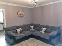 ON SALE BRAND NEW LOGAN CORNER COUCH AVAILABLE IN 3+2 SEATER