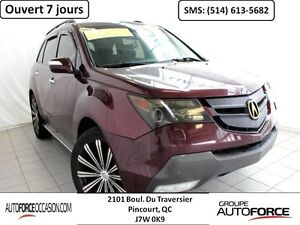 2007 Acura MDX SH-AWD CUIR TOIT 7 PASS MAG 22'' BELLE CONDITION