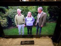 "tecknica 32"" tv, built in feeview"