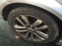 "Vauxhall 18"" alloys good condition"