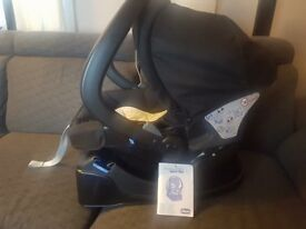 Baby car seat with base 0-12 months