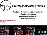 Vocal Training - Singing Lessons