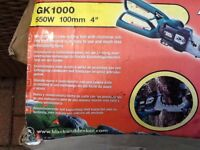 Black and decker alligator mini chain saw