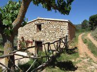 Spanish farmhouse with 26 acres