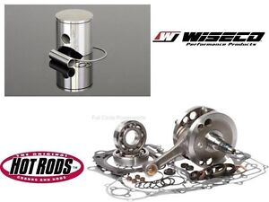 HotRods Wiseco Engine Rebuild Kit Suzuki LT250R 88-92 68.00mm Bore Piston Crank