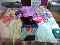girls clothing bundle size from 4-5 years to 6-7 years dress coats trousers skirt tights vest etc..