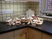 Royal Albert Bone China (Old Country Roses)