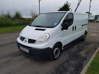 NO VAT 2008 08 RENAULT TRAFIC 2.0 DCI 115 LL29, LWB, TOW BAR, PX WELCOME