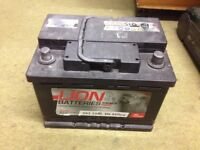 Good working Fully charged car Battery