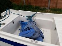 Amazing little family fishing boat. In great condition. Has storage space and comes with trailer.