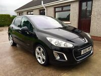 2011 PEUGEOT 308 HDI ALLURE NAV *HIGHEST SPEC 308 IN COUNTRY* not Focus Astra C4 Megane Leon Golf