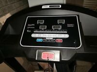 TREADMILL - excellent condition, only been used twice.