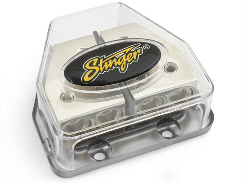 Stinger HPM 4 / 8 Gauge Combo Power and Ground Wire Distribution Block SPD570