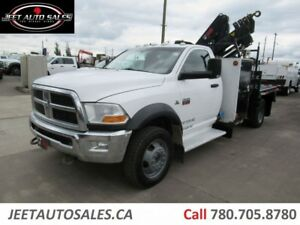 2011 Dodge Ram 5500 ST Picker Crane