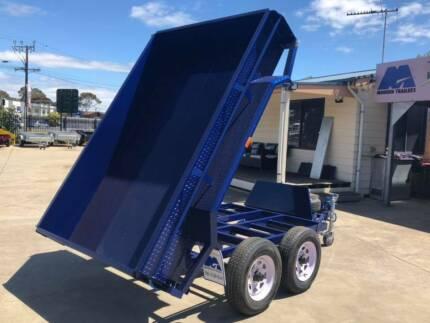 8x5 Electric Tipper Tandem Trailer (Australian Made) Morphett Vale Area Preview