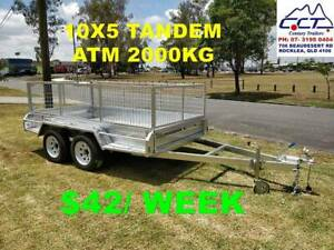 Take Home Layby 10x5 TANDEM WITH CAGE ATM 2000KG