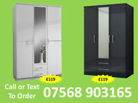 WARDROBE BRAND NEW ROBES WARDROBES CLEARANCE PRICES FAST DELIVERY 258