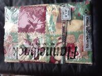 Pvc xmas table cloth brand new