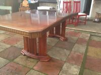 large dinning table good condition only £20.00
