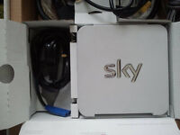 Sky Hub Set Wireless HDMI Router Brand New Unused