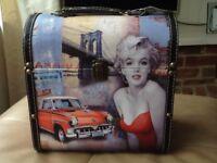 Marilyn Monroe design storage case