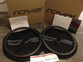 Roval CLX 40 carbon fibre road bike wheels
