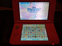 Pink 3DS XL with 144 Mostly Girlie 3DS Games Worth £1,650 - Disney/Barbie/Mario/Pokemon/Zelda etc