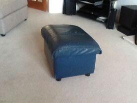 Leather Footstool