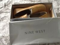 Nine West Camel Soft Kidskin Loafers