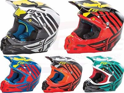 Fly Racing F2 Carbon MIPS Zoom Helmet Motocross Dirt Bike Offroad ATV Snowmobile