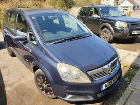 image for Vauxhall, ZAFIRA, MPV, 2007, Manual, 1598 (cc), 5 doors