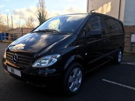 2009 59 MERCEDES BENZ VITO 2.1 CDI 111 LONG LWB *AUTOMATIC* LOW MILES 132K