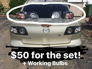 03-09 Mazda 3 Taillights! Only $50!!!