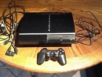 PlayStation 3 with remote & all leads great condition £60